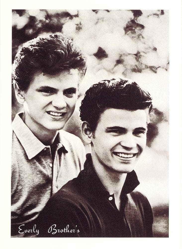 E is for Everly Brothers