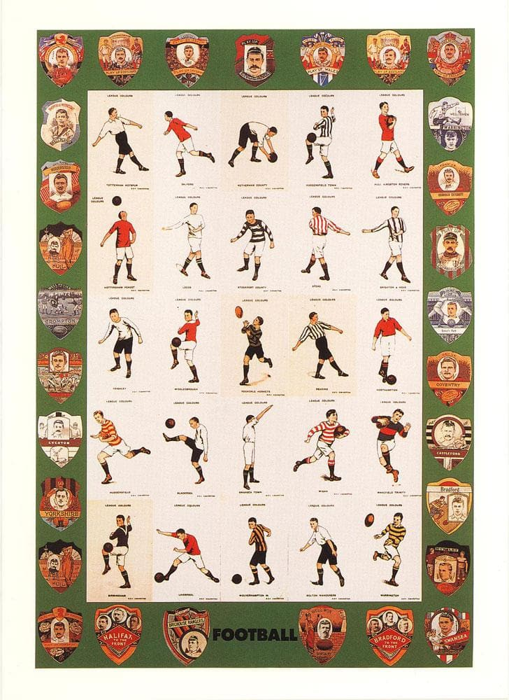 F is for Football artwork by Peter Blake