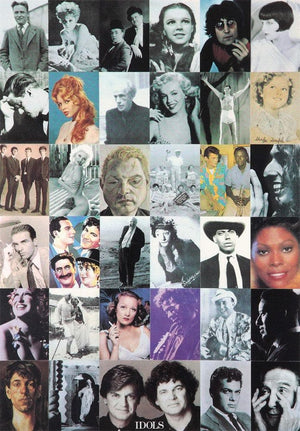 I is for Idols artwork by Peter Blake
