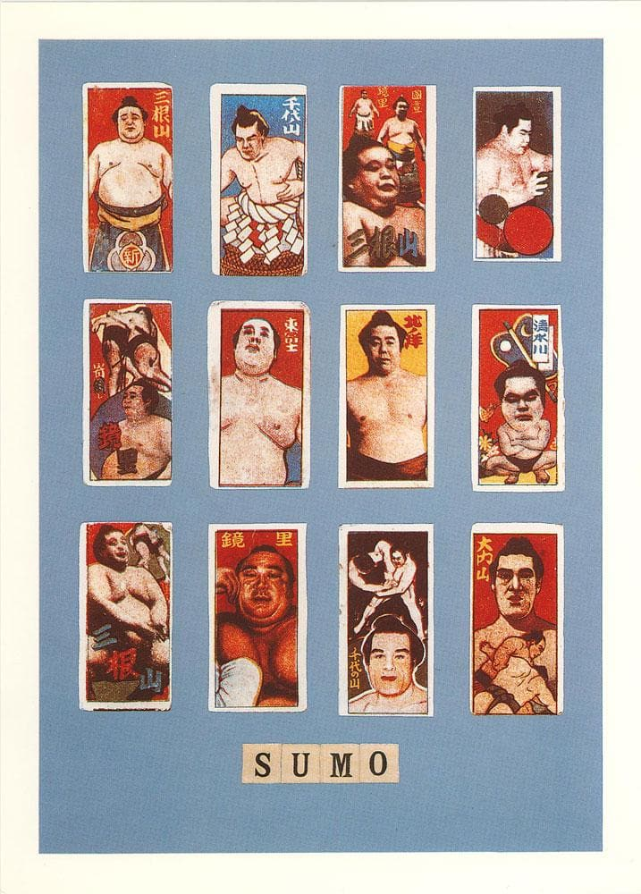 S is for Sumo artwork by Peter Blake