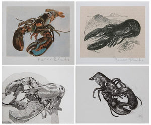 Lobster Suite artwork by Peter Blake