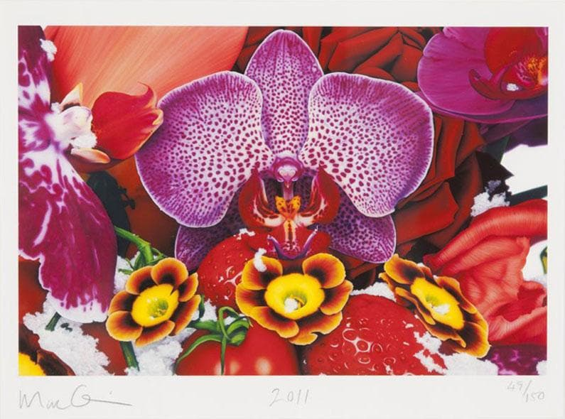 Kashi Sunrise Lotus artwork by Marc Quinn