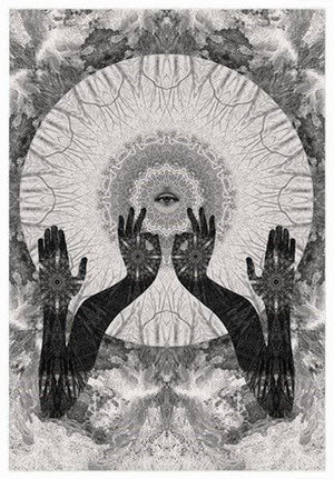 Temple of the Way of Light artwork by Dan Hillier