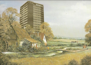 Tower Block, A0 artwork by Haus Of Lucy