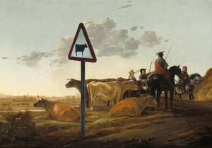 Cows, A0 artwork by Haus Of Lucy