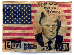 God Save Us All artwork by Jamie Reid