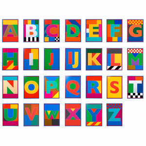 Dazzle Alphabet - Box Set