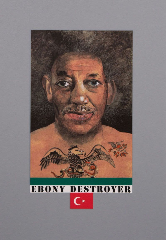 Ebony Destroyer artwork by Peter Blake