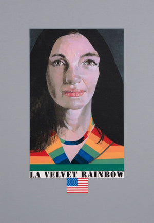 LA Velvet Rainbow artwork by Peter Blake