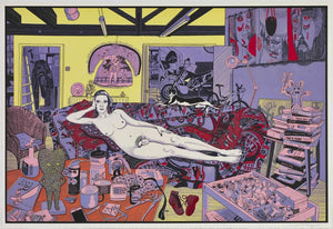 Reclining Artist artwork by Grayson Perry