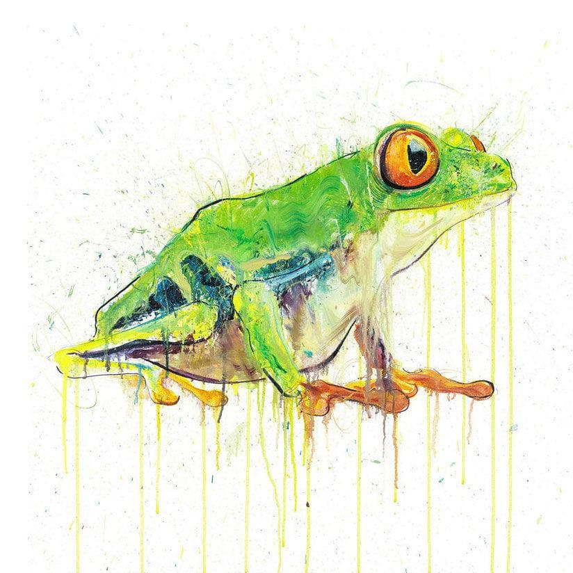 Tree Frog - Diamond Dust Edition artwork by Dave White