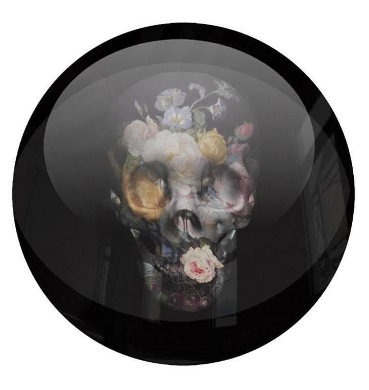 Roses are Dead Paperweight artwork by Magnus Gjoen