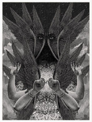 Our Lady of the Everything artwork by Dan Hillier