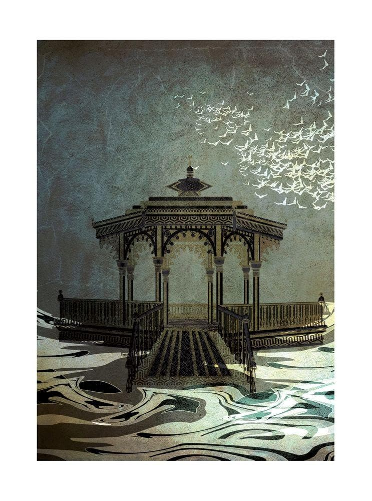 Bandstand artwork by Sarah Arnett