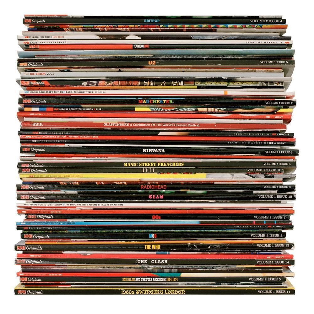 New Musical Express - Small artwork by Mark Vessey