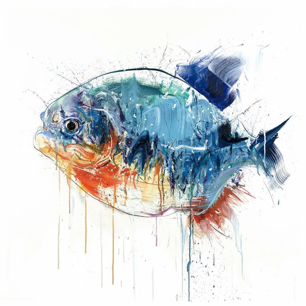 Piranha XL artwork by Dave White