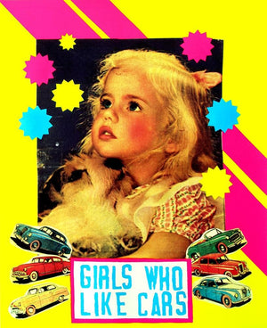 Girls Who Like Cars artwork by Magda Archer