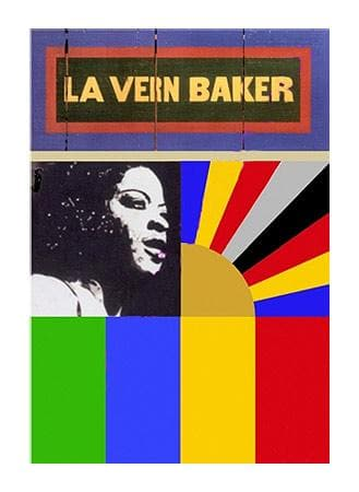 La Vern Baker artwork by Peter Blake