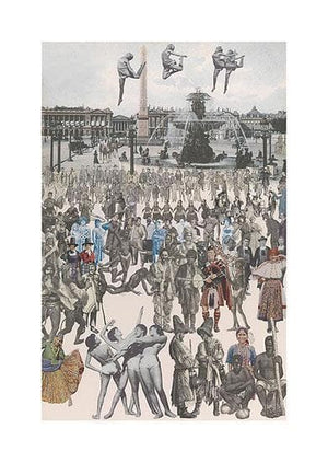 Dancing Place de la Concorde artwork by Peter Blake