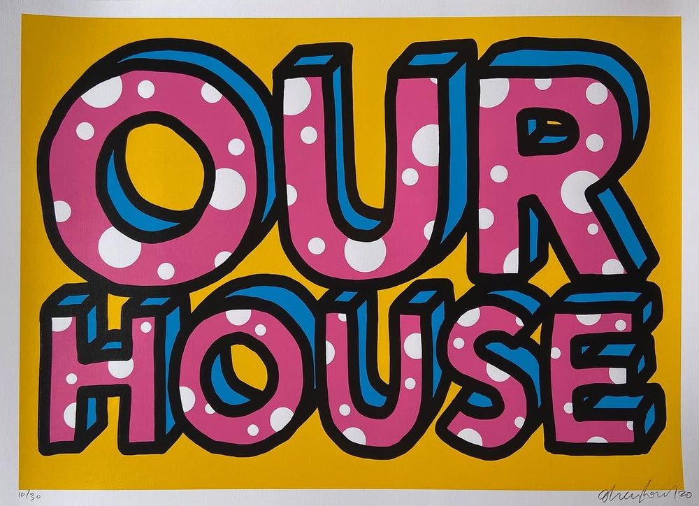 Our House artwork by Oli Fowler