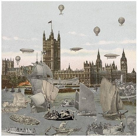 River ThamesRegatta artwork by Peter Blake
