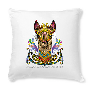 Cuscino con cover - Indian Lama - Coussin 40x40 - SUB - T-Pop - AnimalStories.shop