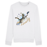 Felpa donna Organic - Lovely - Sweat-shirt - Rise - Stanley - DTG - T-Pop - AnimalStories.shop