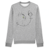 Felpa donna Organic - My Cat - Sweat-shirt - Rise - Stanley - DTG - T-Pop - AnimalStories.shop