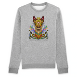 Felpa donna Organic - Indian Lama - Sweat-shirt - Rise - Stanley - DTG - T-Pop - AnimalStories.shop