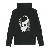 Felpa unisex con cappuccio Organic - Wildlife protection ibex - Hoodie - SIDER - Stanley - DTG - T-Pop - AnimalStories.shop