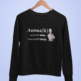 Felpa unisex Organic - Anima(li) - Sweat unisexe - WUI20 BandC - DTG - T-Pop - AnimalStories.shop