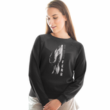 Felpa unisex Organic - No More Fear - Sweat-shirt - Rise - Stanley - DTG - T-Pop - AnimalStories.shop