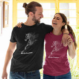 T-Shirt unisex Organic - Run for freedom