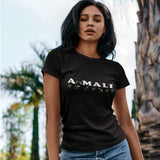 T-Shirt donna Organic -AniMALI - AnimalStories.shop