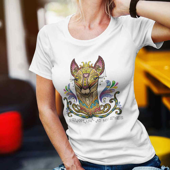 T-Shirt donna Organic - Indian Lama