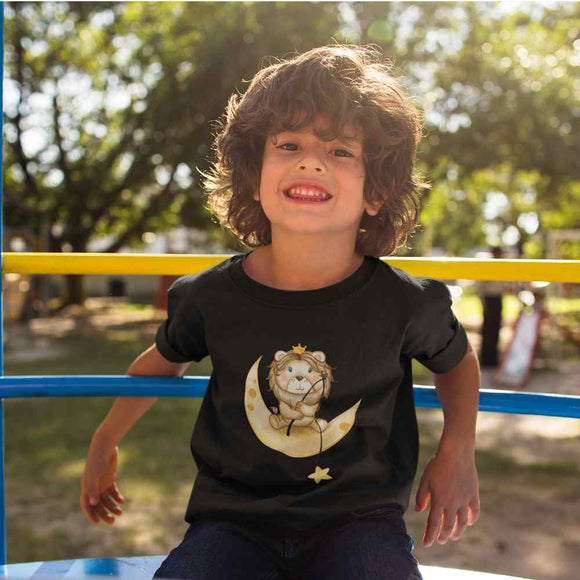 T-Shirt kid - Lion - AnimalStories.shop