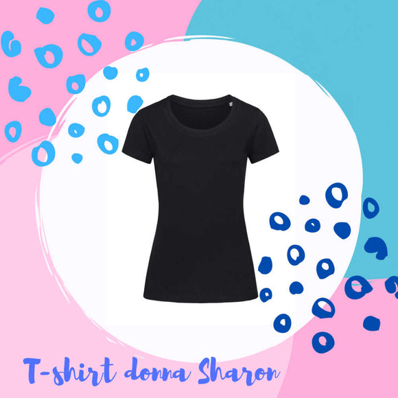 T-Shirt donna Sharon - AnimalStories.shop