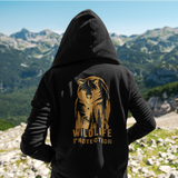 Felpa unisex con cappuccio Organic - Wildlife protection bear - Hoodie - SIDER - Stanley - DTG - T-Pop - AnimalStories.shop