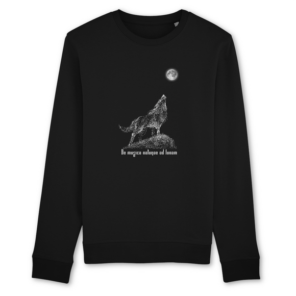 Felpa unisex Organic - De musica naturae - Sweat-shirt - Rise - Stanley - DTG - T-Pop - AnimalStories.shop