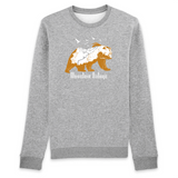 Felpa unisex Organic - Mountain Nature - Sweat-shirt - Rise - Stanley - DTG - T-Pop - AnimalStories.shop