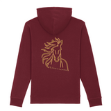 Felpa unisex con cappuccio Organic - My Horse is my partner - Hoodie - CRUISER - Stanley - DTG - T-Pop - AnimalStories.shop