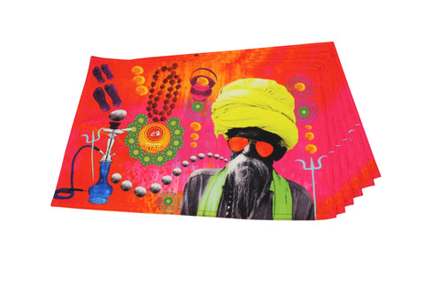 Canvas Placemat (Baba Print)