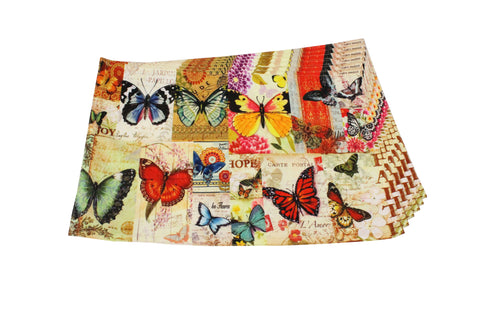 Canvas Placemat (Butterfly)