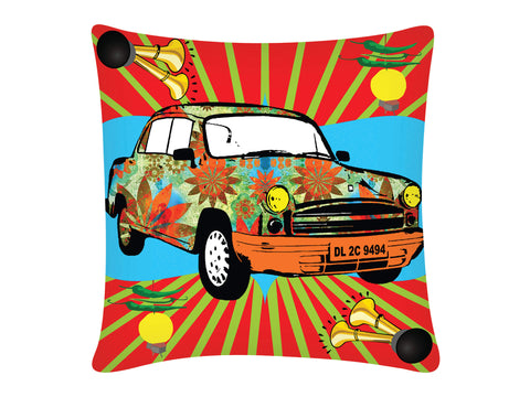 Cushion Cover, Square (Bhopu Amby)