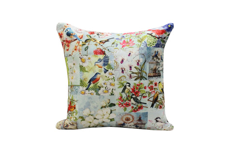 Cushion Cover, Square (Bluebirds)