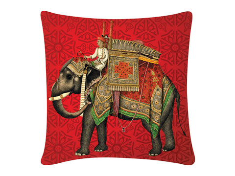 Cushion Cover, Square (Gaj - Red)