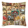 Cushion Cover, Square (Mens Print)