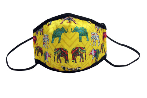 Mask Adult (ZZ Elephant - Yellow)