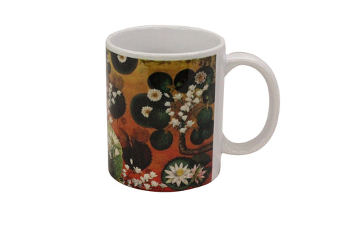Mug, Large (Lotus Pond - Orange)