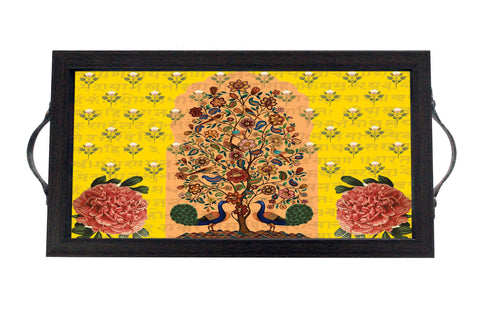 Tray, Mini (Tree Of Life - Yellow)